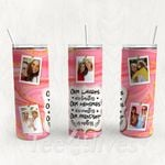 Personalized Photo Tumbler - Photo Collage Tumbler - Custom Travel Mug - Gift For Best Friend 34 | Birthday Gifts