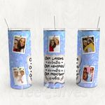 Personalized Photo Tumbler - Photo Collage Tumbler - Custom Travel Mug - Gift For Best Friend 35 | Birthday Gifts