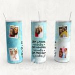 Personalized Photo Tumbler - Photo Collage Tumbler - Custom Travel Mug - Gift For Best Friend 36 | Birthday Gifts