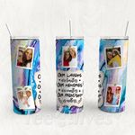 Personalized Photo Tumbler - Photo Collage Tumbler - Custom Travel Mug - Gift For Best Friend 37   Birthday Gifts