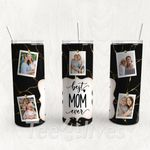 Personalized Photo Tumbler - Photo Collage Tumbler - Custom Travel Mug - Gift For Mother's Day 20