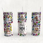 Personalized Photo Tumbler - Photo Collage Tumbler - Custom Travel Mug - Gift For Mother's Day 29