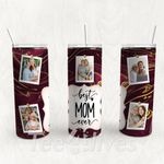 Personalized Photo Tumbler - Photo Collage Tumbler - Custom Travel Mug - Gift For Mother's Day 51