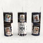 Personalized Photo Tumbler - Photo Collage Tumbler - Custom Travel Mug - Gift For Mother's Day 55