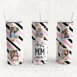 Personalized Photo Tumbler - Photo Collage Tumbler - Custom Travel Mug - Gift For Mother's Day 68
