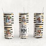 Personalized Photo Tumbler - Photo Collage Tumbler - Custom Travel Mug - Gift For Mother's Day 72