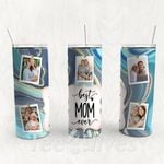 Personalized Photo Tumbler - Photo Collage Tumbler - Custom Travel Mug - Gift For Mother's Day 74