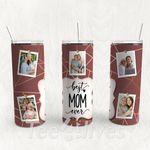 Personalized Photo Tumbler - Photo Collage Tumbler - Custom Travel Mug - Gift For Mother's Day 84
