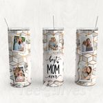 Personalized Photo Tumbler - Photo Collage Tumbler - Custom Travel Mug - Gift For Mother's Day 86
