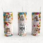 Personalized Photo Tumbler - Photo Collage Tumbler - Custom Travel Mug - Gift For Mother's Day 94