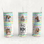 Personalized Photo Tumbler - Photo Collage Tumbler - Custom Travel Mug - Gift For Mother's Day 103