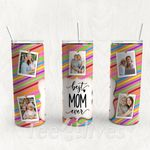 Personalized Photo Tumbler - Photo Collage Tumbler - Custom Travel Mug - Gift For Mother's Day 105