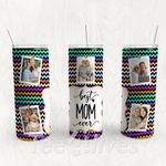Personalized Photo Tumbler - Photo Collage Tumbler - Custom Travel Mug - Gift For Mother's Day 108