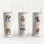 Personalized Photo Tumbler - Photo Collage Tumbler - Custom Travel Mug - Gift For Mother's Day 110