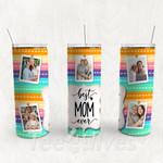 Personalized Photo Tumbler - Photo Collage Tumbler - Custom Travel Mug - Gift For Mother's Day 112