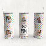 Personalized Photo Tumbler - Photo Collage Tumbler - Custom Travel Mug - Gift For Mother's Day 113