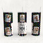 Personalized Photo Tumbler - Photo Collage Tumbler - Custom Travel Mug - Gift For Mother's Day 114
