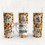 Personalized Photo Tumbler - Photo Collage Tumbler - Custom Travel Mug - Gift For Mom And Grandma 7