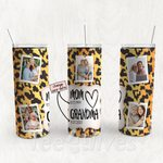 Personalized Photo Tumbler - Photo Collage Tumbler - Custom Travel Mug - Gift For Mom And Grandma 10