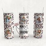 Personalized Photo Tumbler - Photo Collage Tumbler - Custom Travel Mug - Gift For Mom And Grandma 14
