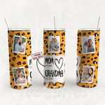 Personalized Photo Tumbler - Photo Collage Tumbler - Custom Travel Mug - Gift For Mom And Grandma 15