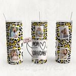 Personalized Photo Tumbler - Photo Collage Tumbler - Custom Travel Mug - Gift For Mom And Grandma 18