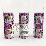 Personalized Photo Tumbler - Photo Collage Tumbler - Custom Travel Mug - Gift For Mom And Grandma 20