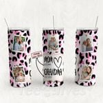 Personalized Photo Tumbler - Photo Collage Tumbler - Custom Travel Mug - Gift For Mom And Grandma 21