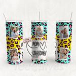 Personalized Photo Tumbler - Photo Collage Tumbler - Custom Travel Mug - Gift For Mom And Grandma 24