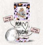 Personalized Photo Tumbler - Photo Collage Tumbler - Custom Travel Mug - Gift For Mom And Grandma 26