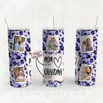 Personalized Photo Tumbler - Photo Collage Tumbler - Custom Travel Mug - Gift For Mom And Grandma 27