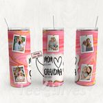 Personalized Photo Tumbler - Photo Collage Tumbler - Custom Travel Mug - Gift For Mom And Grandma 35