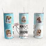 Personalized Photo Tumbler - Photo Collage Tumbler - Custom Travel Mug - Gift For Mom And Grandma 36