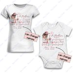 Personalized Combo Women's T-Shirt + Onesie Mother Is Your Friend 1 - Gift For Mother Day - Premium Women's T-shirt + Onesie
