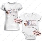 Personalized Combo Women's T-Shirt + Onesie Mother Is Your Friend 2 - Gift For Mother Day - Premium Women's T-shirt + Onesie