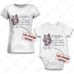 Personalized Combo Women's T-Shirt + Onesie Mother Is Your Friend 3 - Gift For Mother Day - Premium Women's T-shirt + Onesie