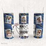 Personalized Photo Tumbler - Photo Collage Tumbler - Custom Travel Mug - Gift For Mom And Grandma 44