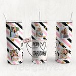 Personalized Photo Tumbler - Photo Collage Tumbler - Custom Travel Mug - Gift For Mom And Grandma 47