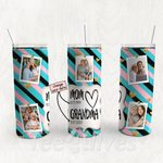 Personalized Photo Tumbler - Photo Collage Tumbler - Custom Travel Mug - Gift For Mom And Grandma 48
