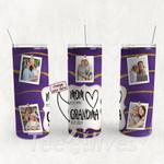Personalized Photo Tumbler - Photo Collage Tumbler - Custom Travel Mug - Gift For Mom And Grandma 55