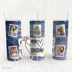 Personalized Photo Tumbler - Photo Collage Tumbler - Custom Travel Mug - Gift For Mom And Grandma 57