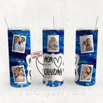 Personalized Photo Tumbler - Photo Collage Tumbler - Custom Travel Mug - Gift For Mom And Grandma 58