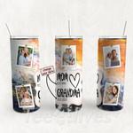 Personalized Photo Tumbler - Photo Collage Tumbler - Custom Travel Mug - Gift For Mom And Grandma 63