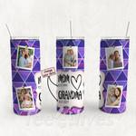 Personalized Photo Tumbler - Photo Collage Tumbler - Custom Travel Mug - Gift For Mom And Grandma 66