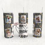 Personalized Photo Tumbler - Photo Collage Tumbler - Custom Travel Mug - Gift For Mom And Grandma 80