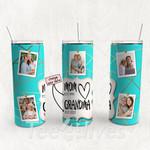 Personalized Photo Tumbler - Photo Collage Tumbler - Custom Travel Mug - Gift For Mom And Grandma 82