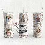 Personalized Photo Tumbler - Photo Collage Tumbler - Custom Travel Mug - Gift For Mom And Grandma 83