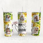 Personalized Photo Tumbler - Photo Collage Tumbler - Custom Travel Mug - Gift For Mom And Grandma 84