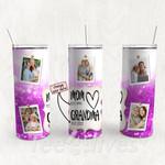 Personalized Photo Tumbler - Photo Collage Tumbler - Custom Travel Mug - Gift For Mom And Grandma 87