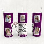 Personalized Photo Tumbler - Photo Collage Tumbler - Custom Travel Mug - Gift For Mom And Grandma 92